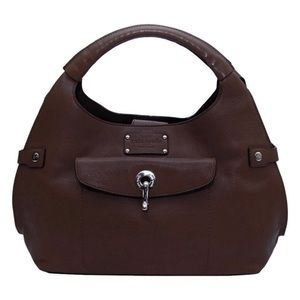Kate Spade Kent Alessandra Satchel in Chocolate